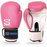 STAMINA Boxing Gloves 14 oz [ST-303-14PK] - Pink - Other Exercise